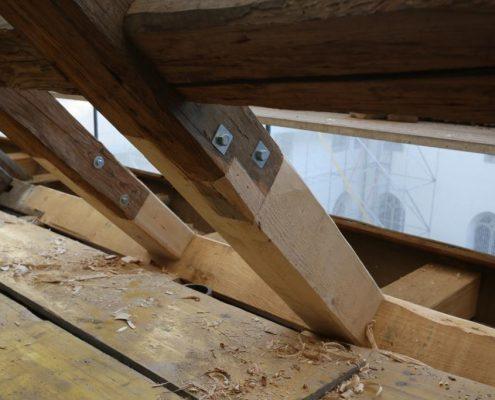 Reparatur Dachstock
